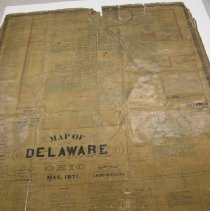 Image of 1871 Map of Delaware, Ohio