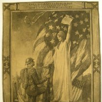 Image of Clarence Matlack Recognition of Service WWI