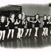 Image of 12 Unknown young under 6 girls from Betsy Humphries' Dance Studio -