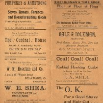 Image of Advertisements on paper -