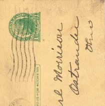 Image of Front of post card