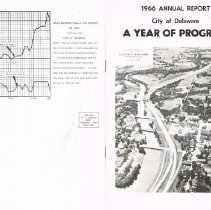 Image of City of Delaware 1966 Annual Report - Cover