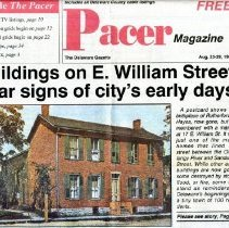 Image of Pacer Magazine Postcard of 17 East William Street