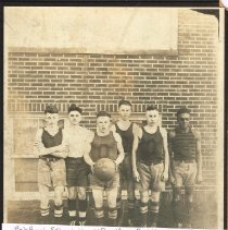 Image of 1921 Basketball Team Orange Twp. -
