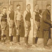 Image of 1918 Orange Township Basketball Team -