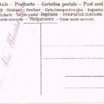 Image of Easter Post Card Star Theatre-Back
