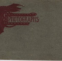 Image of Cover of album of 9 photographs