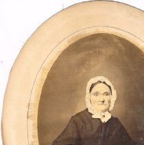 Image of portion of portrait of Lucy M. Berlin
