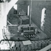 Image of Construction of the Delaware, Ohio Post Office in 1996 -