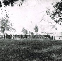Image of 4th Illinois Provost Guard Camp - 1898