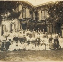 Image of 1913 Williams/Lewis family reunion - 1913