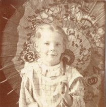 Image of Young Lois Cole (Nash) -
