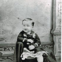 Image of Young Herbert Lee Harter -