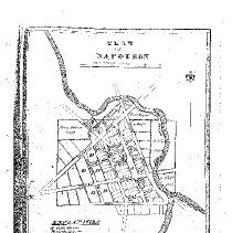 Image of Plat of Napoleon Town