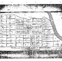 Image of Plat of the vacated part of Delaware City