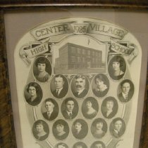 Image of 1926 Center Village High School senior class photo - 1926