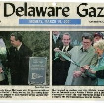 Image of Delaware Gazette 19 Mar 2001 p.1