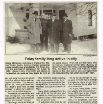 Image of Foley Family roots run deep in Delaware p2 (6 Nov 1997)