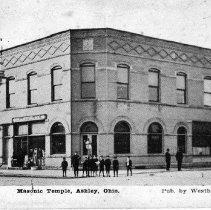 Image of Masonic Temple, Ashley, Ohio