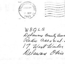 Image of Amateur Radio Post cards and registers
