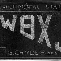 Image of Register of Experimental Amateur Radio Station