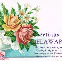 Image of Greetings from Delaware, Ohio Post card
