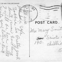 Image of Greetings from Sunbury, Ohio Post card