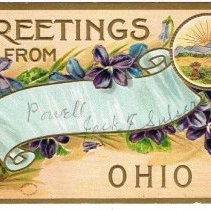 Image of Greetings from Powell, Ohio, Post card