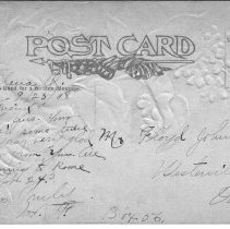 Image of Greetings Post card from Galena, Ohio