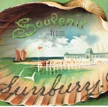 Image of Souvenir from Sunbury, Ohio, Post card