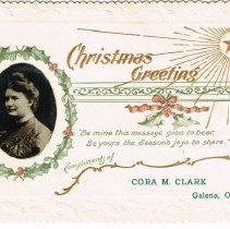 Image of Private Christmas Greeting Card