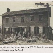 Image of Early Photo of Sharp Home
