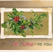 Image of Happy New Year Greeting Card
