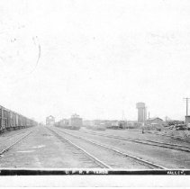 Image of Union Pacific Rail Road Yard, Valley, Nebraska