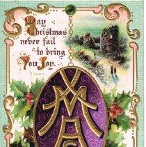 Image of Christmas Greeting Postcard