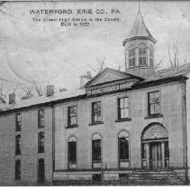 Image of High School of 1822 - Waterford, Pennsylvania