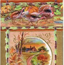 Image of Thanksgiving Joys Postcard