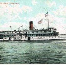 "Image of R. & O. N. Company Steamer ""Toronto"""