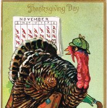 Image of Thanksgiving Day Postcard