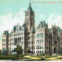 Image of City and County Building - salt Lake City, Utah