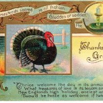 Image of Thanksgiving Postcard 1910