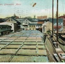 Image of Fish Wharves - Gloucester, Massachusets