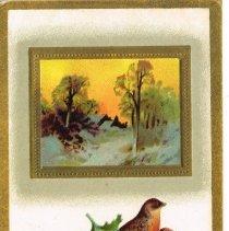 Image of Joyful Christmas Postcard 1910