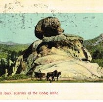 Image of Skull Rock - Garden of the Gods, Idaho