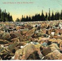 Image of Lake of Rocks in City of Rocks, Idaho
