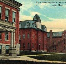 Image of View Ohio Northern University Buildings, Ada, Ohio