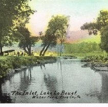 Image of Lake Le Bouef  Water fard, Erie County, Pennsylvania