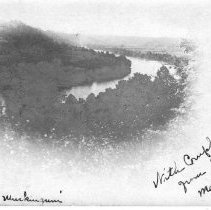 Image of View of Muskingum River, Malta, Ohio