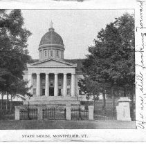 Image of State House  Montpelier, Vermont