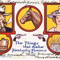 Image of Greetings from Kentucky Postcard